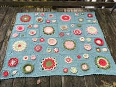 free pattern - April 1, 2016 - Crochet - A - Long to The Garden State Afghan - Julie Yeager Designs