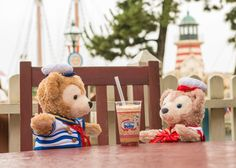 Tokyo DisneySea, Cape Cod Cookoff, Duffy, Sherry May, Milk Tea with Peach,