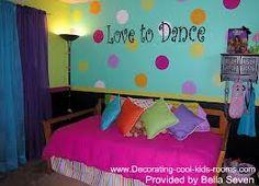dance themed room
