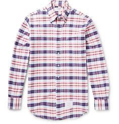 Thom Browne - Mode : 50 chemises a carreaux pour homme