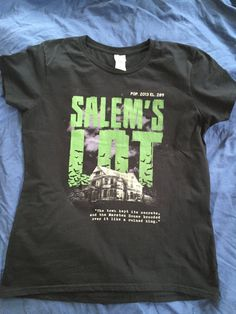 Salems Lot- Marsten House. Based on the book by Stephen King this Nameless City Apparel tee knows darkness. And darkness is enough. - ladies
