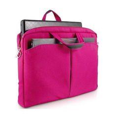 bolsa feminina para notebook rosa