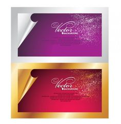 Elegant Curled Card Vector Graphic - http://www.dawnbrushes.com/elegant-curled-card-vector-graphic/