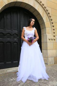 romantic wedding dress designed by MIKI MIAU