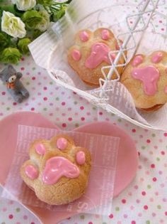 Japanese Pastries, Japanese Food, Kawaii Dessert, Cat Cafe, Cute Food, Asian Recipes, Swag, Creatures, Pudding
