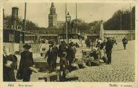 Yläsatama, kortti leimattu 1925, Johan Snellman arkisto.