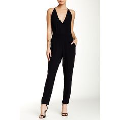 Theory Roxie Jumpsuit ($160) ❤ liked on Polyvore