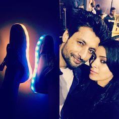 My dancing shoes and My dancing partner tonite @indraneilsengupta  #playboyclub #mumbai