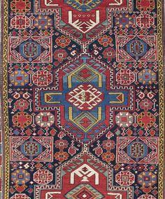 Antique Shirvan Rug, Caucasus