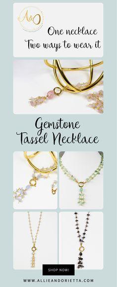 The sweetest Minimal Chic Style – Handmade Gemstone Jewelry. Get it now!