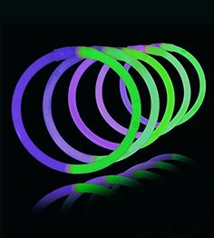100 8 Lumistick Glowstick Bracelets  BiColor GreenPurple -- Read more  at the image link.Note:It is affiliate link to Amazon.