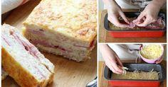 El CROQUE-CAKE: un nuevo y original croque monsieur para chuparse los dedos