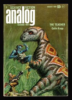 Analog Science Fiction-Science Fact, August, 1969 - Kelly Freas Cover | eBay