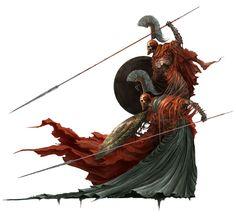Alexandre Chaudret | Gemini Lanceati - Two brothers, two spearmen