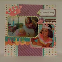 Ellie's 4th by gwendolyn46 - Cards and Paper Crafts at Splitcoaststampers