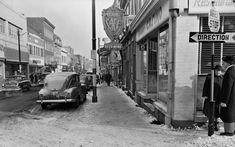 Rue Saint-Jean, coin Saint-Augustin, en 1952   D'hier à aujourd'hui   Actualités   Le Soleil - Québec Canada, Saint Jean, Quebec City, Rue, Saints, Images, Coin, Archive, Memories