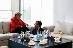 Wird Merkel Macrons Vorliebe für ältere Damen ausnutzen?