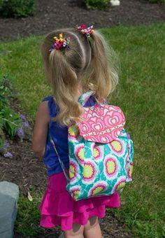 como hacer una mochila escolar