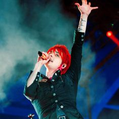 Thank you for following me, I've just reached 100 followers. Love ya all and here's Gerard Way for you. <3 @whatsername26