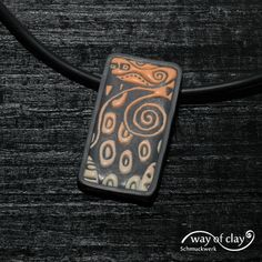 pendant   by way of clay
