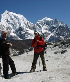At the Cho La-Everest region snowcattravel.com