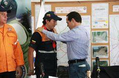 PROTECCIÒN CIVIL TÀCHIRA: Gobernador condecoró a funcionarios que estuvieron...