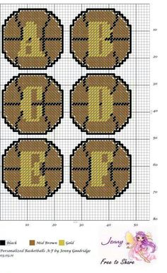 Basket ball alphabet