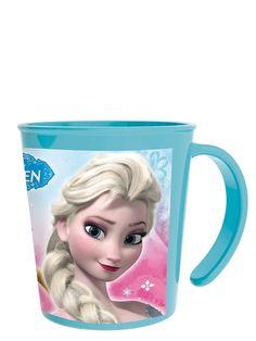 Kaunis Frozen-muki sopii niin kylmien, kuin myös kuumien juomien nauttimiseen. Mukia voit käyttää myös mikrossa. Vetoisuus 2,8 dl. Pinottava.