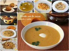 Raccolta di ricette con la zucca dolci e salate il chicco di mais