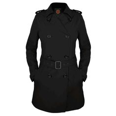 Every Woman's Wardrobe Needs a Teched Out Trench Coat Like This One