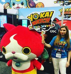 Booth de Yo-Kai Watch en #GDC16 @official_gdc