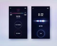 Snooze screen