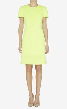 Michael Kors Yellow Dress