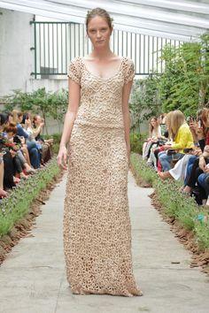 Crochetemoda: Vanessa Montoro - Coleção Verão 2013✿Crochet & Lace Waves