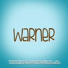 Warner (Voor meer inspiratie, en unieke geboortekaartjes kijk op www.heyboyheygirl.nl)