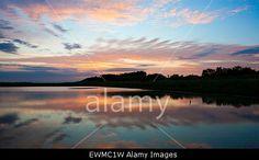 Southport, Merseyside, UK. 29th June, 2015. Stunning #sunrise over RSPB nature reserve of #RimmersMarsh ©Cernan Elias/Alamy Live News