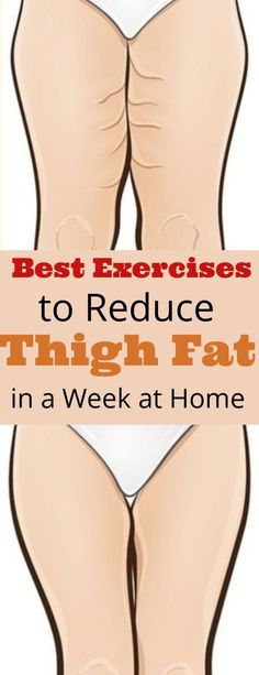 10 Best Exercises to Lose Thigh Fat Fast in a Week at Home Best Exercises to Get Rid of Thigh Fast in 7 Days at Home. If you want to get slimmer, skinny thighs try these easy leg workouts routine to reduce stubborn inner upper thigh fat quickly at home. Lose Thigh Fat Fast, Reduce Thigh Fat, Exercise To Reduce Thighs, Lose Belly Fat, Fitness Workouts, Easy Workouts, Fat Workout, Workout Routines, Yoga Fitness