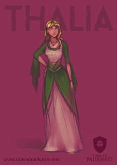 She is Thalia, the protagonist of our first comic: She Who Killed The Immortal King.