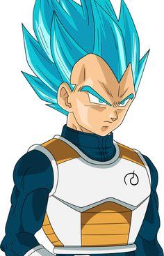 Dragon Ball Z | Super Saiyan Blue Vegeta by RighteousAJ on @DeviantArt