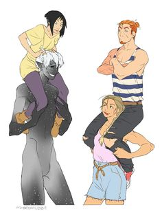Katie, Sid, Jamie, and Sam!
