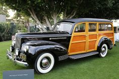 Packard 120 Woody Station Wagon 1941 2