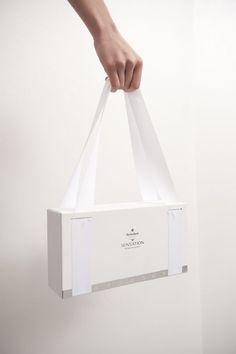 Packaging Design Heineken Sensation 2013 by Szu Yu Chen, via Behance Tough Boat Ladders Made of Stai Clothing Packaging, Fashion Packaging, Luxury Packaging, Bag Packaging, Jewelry Packaging, Coffee Packaging, Bottle Packaging, Packaging Dielines, Bakery Packaging