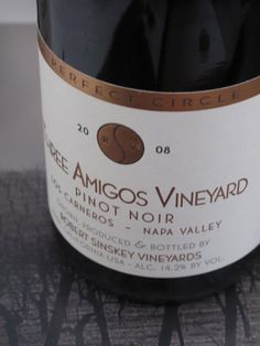2008 Robert Sinskey Three Amigos Pinot Noir