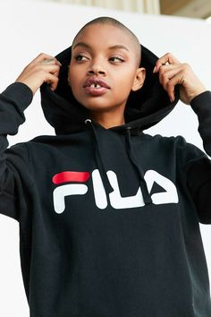 FILA + UO Samantha Hoodie Sweatshirt - Urban Outfitters