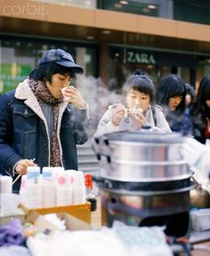 Street Food in Seoul Korea   - Explore the World with Travel Nerd Nici, one Country at a Time. http://TravelNerdNici.com
