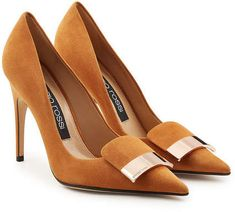 Designer Clothes, Shoes & Bags for Women Suede Pumps, Pumps Heels, Stiletto Heels, High Heels, Unique Shoes, Fashion Heels, Hot Shoes, Mode Outfits, Beautiful Shoes