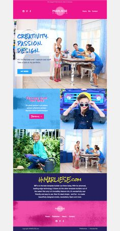 HiMarliese MailChimp Newsletter Template Mailchimp Newsletter - Mailchimp newsletter templates