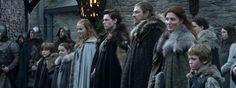 Game of Thrones temporada 1, la familia Stark