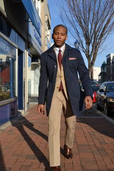 Cucinelli Trench & Pocket Square