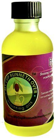 Hyssop Anointing Oil 2oz by My Cup Runneth Over Anointing Oils. $18.40